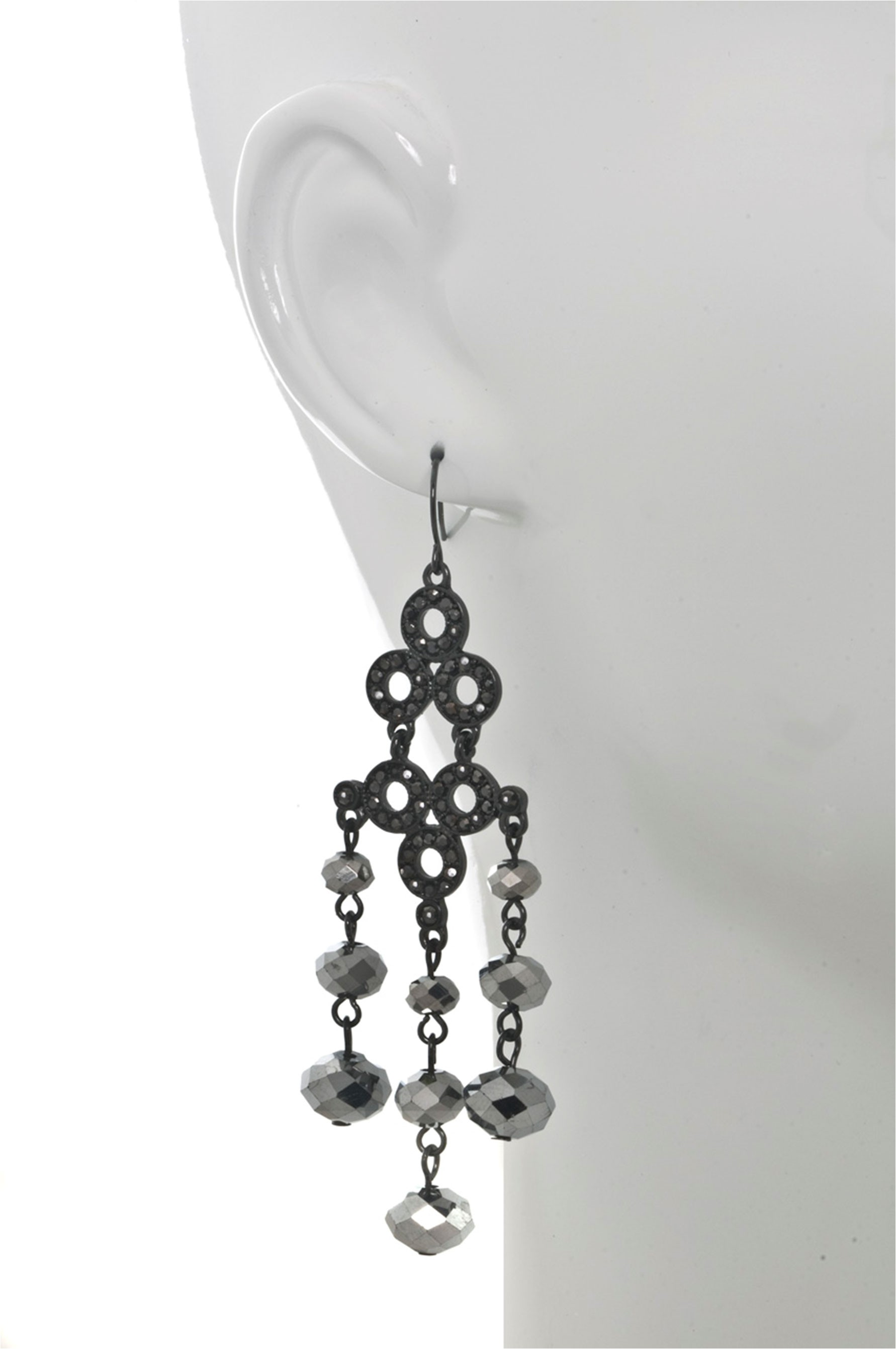 Beaded chandelier earring beaded chandelier earring mozeypictures Choice Image
