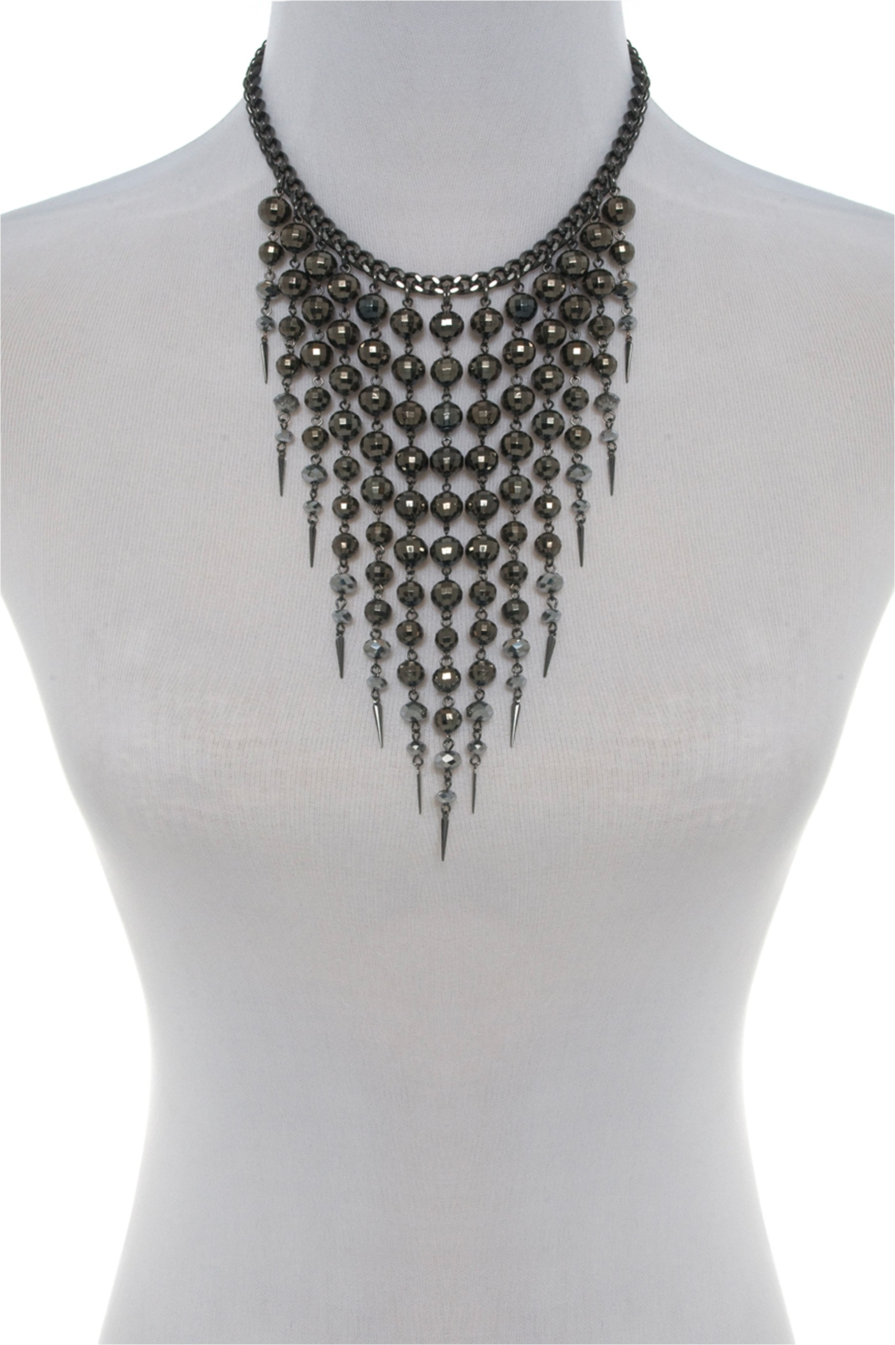 bib lace nkc athena gunmetal singh jewelry alt product image black necklace amrita shop