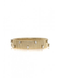 large baguette watchband bracelet
