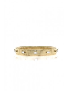 thin baguette watch band bracelet