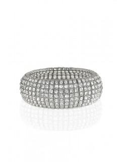 Deco crystal strech bracelet