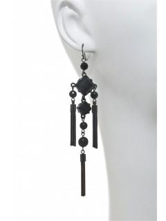 Fringe chandelier earring