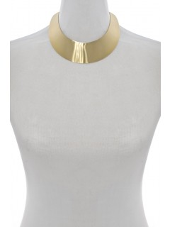 Gold Plated Metal Collar