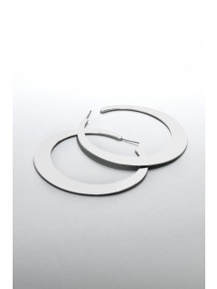 Flat Hoop Earring