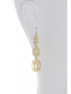 Triple Drop Earring