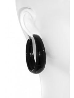 Resin Hoop earring