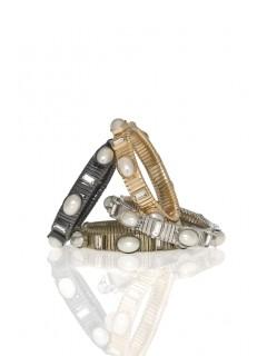 Pearl Watchband Bracelet