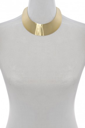 Gold Electro-plated Metal Collar