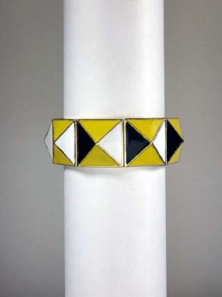 Thick Enamel Bracelet