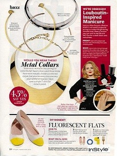 Gold Plated Metal Collar-press